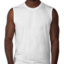 Sport-Tek Competitor Performance Muscle Tank - Color: White