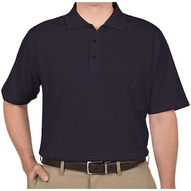 Adidas ClimaLite Performance Polo - Color: Navy / White