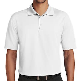 Nike Golf Dri-FIT Micro Pique Performance Polo - Color: White