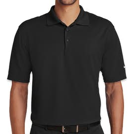 Nike Golf Dri-FIT Micro Pique Performance Polo - Color: Black
