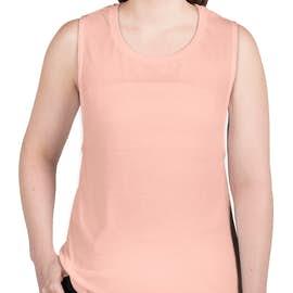 Bella + Canvas Women's Flowy Muscle Tank - Color: Peach