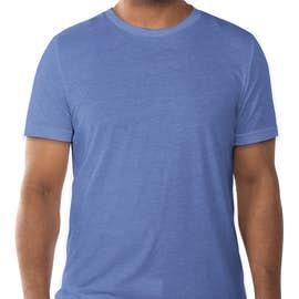 Bella + Canvas Tri-Blend T-shirt - Color: Blue Tri-Blend