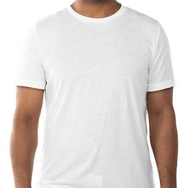 Bella + Canvas Tri-Blend T-shirt - Color: Solid White Tri-Blend