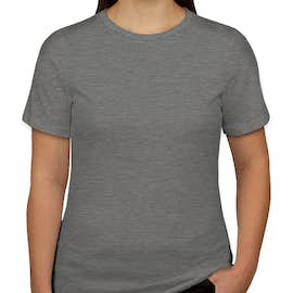 Bella + Canvas Women's Tri-Blend T-shirt - Color: Grey Tri-Blend