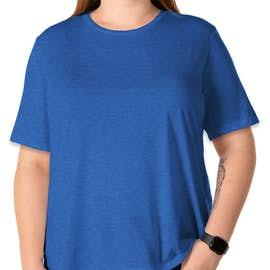 Bella + Canvas Women's Tri-Blend T-shirt - Color: True Royal Tri-Blend