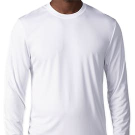 Hanes Cool Dri Long Sleeve Performance Shirt - Color: White