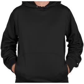 Champion Colorblock Performance Pullover Hoodie - Color: Black / Black