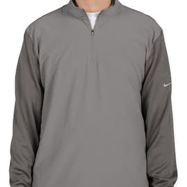 Nike Golf Dri-FIT Lightweight Quarter Zip Pullover - Color: Cool Grey / Dark Grey
