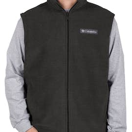 Columbia Cathedral Peak Fleece Vest - Color: Charcoal Heather