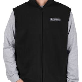 Columbia Cathedral Peak Fleece Vest - Color: Black