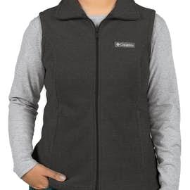 Columbia Women's Benton Springs Fleece Vest - Color: Charcoal Heather