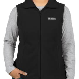 Columbia Women's Benton Springs Fleece Vest - Color: Black