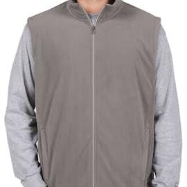 Port Authority Microfleece Vest - Color: Pearl Grey