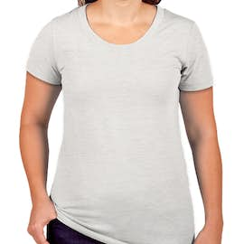 Canada - Bella + Canvas Juniors Tri-Blend T-shirt - Color: White Fleck Tri-Blend
