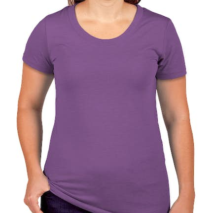 c7c7ceaa8 ... Canada - Bella + Canvas Juniors Tri-Blend T-shirt - Color: Purple ...