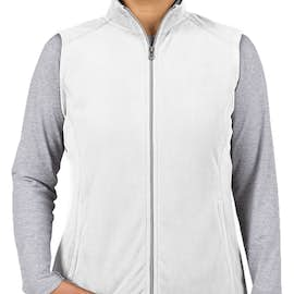 Port Authority Women's Microfleece Vest - Color: White