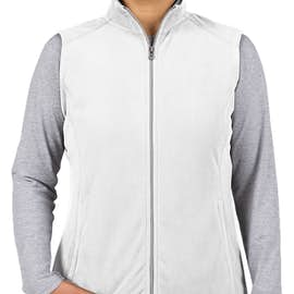 Port Authority Women's Microfleece Vest - Color: White