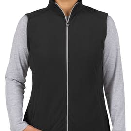 Port Authority Women's Microfleece Vest - Color: Black