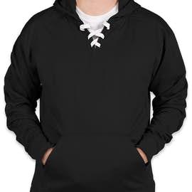 J. America Performance Hockey Pullover Hoodie - Color: Black