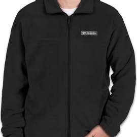 Columbia Steens Mountain Full Zip Fleece Jacket - Color: Black