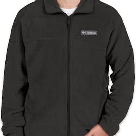 Columbia Steens Mountain Full Zip Fleece Jacket - Color: Charcoal Heather