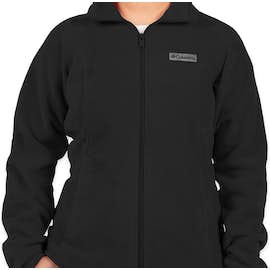 Columbia Women's Benton Springs Full Zip Fleece Jacket - Color: Black