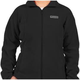 Columbia Women's Benton Springs Full Zip Fleece Jacket - Color: Black