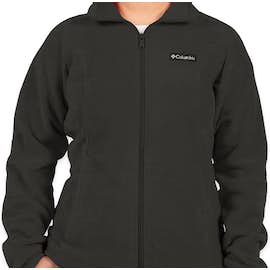 Columbia Women's Benton Springs Full Zip Fleece Jacket - Color: Charcoal Heather