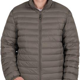 Weatherproof Packable Down Jacket - Color: Dark Pewter