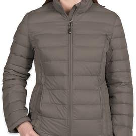 Weatherproof Women's Packable Down Jacket - Color: Dark Pewter