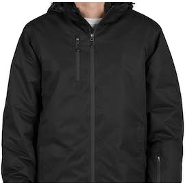 Port Authority 3-in-1 Waterproof Vortex System Jacket - Color: Black / Black