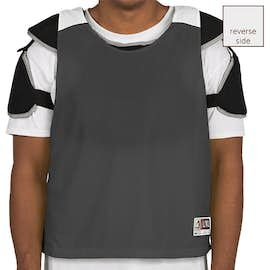 Augusta Reversible Colorblock Practice Pinnie - Color: Black / White