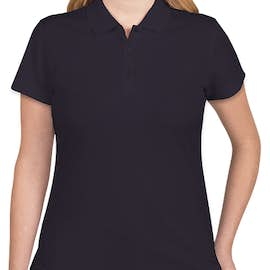 Adidas Women's ClimaLite Performance Polo - Color: Navy / White