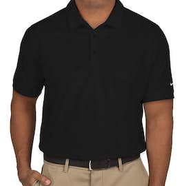 Nike Golf Dri-FIT Smooth Performance Polo - Color: Black