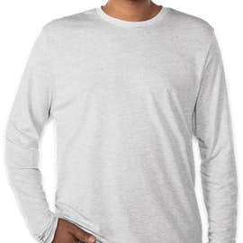 85b6b791dbb Custom Next Level Tri-Blend Baseball Raglan - Design Long Sleeve T ...