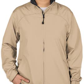 North End Women's Full Zip Hooded Jacket - Color: Putty