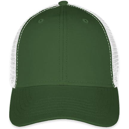 11d0da1924d ... Sportsman Vintage Trucker Hat - Color  Dark Green   White ...