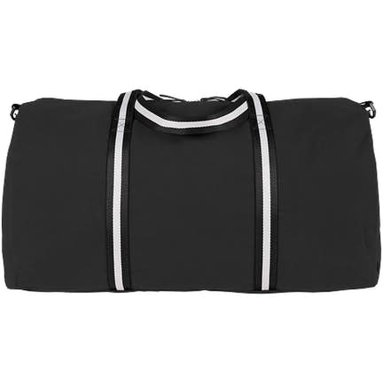 Large Cotton Weekender Large Cotton Weekender - Color  Black ... 17e7d5b5f49fe