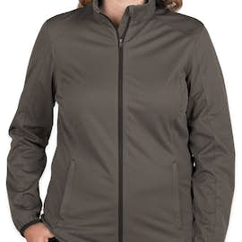 Port Authority Women's Lightweight Active Soft Shell Jacket - Color: Grey Steel