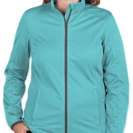Port Authority Women's Lightweight Active Soft Shell Jacket - Color: Light Cyan
