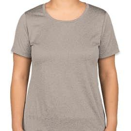 Sport-Tek Women's Heather Performance Shirt - Color: Vintage Heather