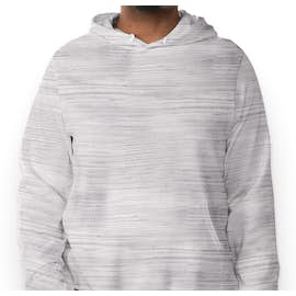 Bella + Canvas Ultra Soft Pullover Hoodie - Color: Light Grey Marble