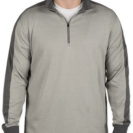 Nike Golf Dri-FIT Half Zip Performance Pullover - Color: Athletic Grey Heather/ Dark Grey