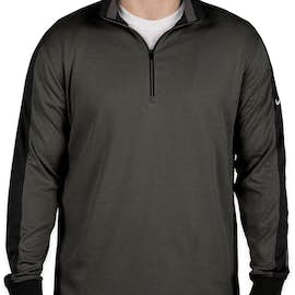 Nike Golf Dri-FIT Half Zip Performance Pullover - Color: Anthracite Heather / Black