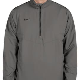 Nike Golf Half Zip Windbreaker - Color: Dark Grey / Black