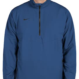 Nike Golf Half Zip Windbreaker - Color: Gym Blue / Black