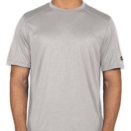 Champion Vapor Heather Performance Shirt - Color: Oxford Grey