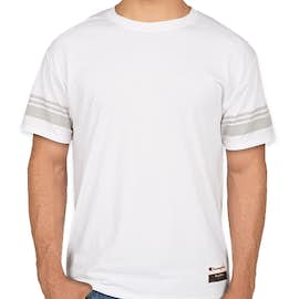 Champion Authentic Tri-Blend Varsity T-Shirt - Color: White