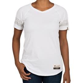 Champion Authentic Women's Tri-Blend Varsity T-shirt - Color: White