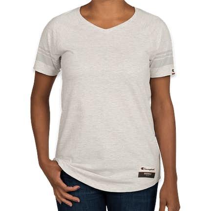 c3576e2163 ... Champion Authentic Women's Tri-Blend Varsity T-shirt - Color: Oatmeal  Heather ...